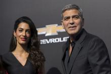 Photos: Amal and George Clooney attend 'Tomorrowland' premiere with their niece Mia
