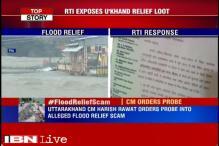 Harish Rawat orders probe in alleged scam during 2013 Uttarakhand floods