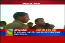 UP: SP MLA Gajala Lari' s son caught on camera threatening policemen