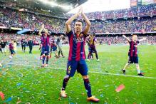 Xavi plays last La Liga game as champions Barcelona draw with Deportivo