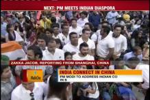 Indian diaspora eagerly wait for Narendra Modi at Shanghai Convention Centre