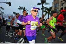 92-year-old cancer survivor becomes oldest woman to finish marathon