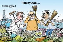 Cartoon of the day: Politics over garbage in Delhi