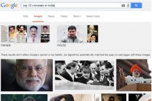 Google apologises over Modi's images in search results for 'top 10 criminals in India'