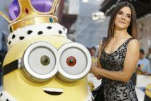 Sandra Bullock enjoys villainous debut in 'Minions'
