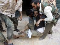 34 dead in rebel rocket fire on Syria's Aleppo