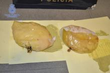 Woman carrying cocaine in breast implants arrested at Colombia airport