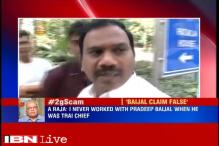 A Raja refutes Pradip Baijal's claims, says never worked with him