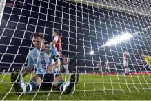 Argentina concede late goal, draw Paraguay in Copa America