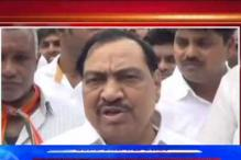 Maharashtra's Minorities Affairs Minister Eknath Khadse courts controversy after comparing Yoga with Namaz