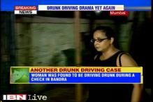 Mumbai police break car windows to nab woman trying to escape alcohol test
