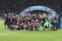 Barcelona beat Juventus 3-1 to lift fifth Champions League title