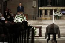 Obamas, Clintons join Vice President Joe Biden's at son Beau's funeral