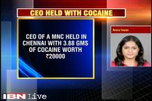 MNC CEO held in Chennai while taking delivery of cocaine