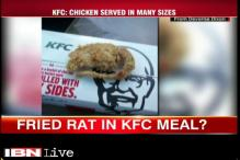 Lab report confirms it was chicken, not rat in meal: KFC