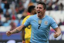 Uruguay defeat Jamaica 1-0 on Cristian Rodriguez goal