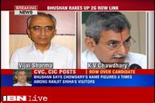 Prashant Bhushan rakes up 2G case, objects to former CBDT chief KV Chowdary being chosen for CVC post