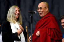 Dalai Lama finds joy in Glastonbury 'people's' festival