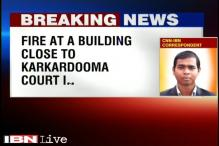Delhi: Fire breaks out in Nipal Towers near Karkardooma Court