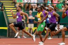 US World Championships: Tyson Gay powers past Bromell for 100m title