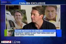 Optimistic about India's fast bowling future: Glenn McGrath