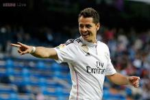 Javier Hernandez calm about his club future