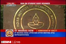 Derecognising students body for alleged criticism of PM could have been avoided, admit IIT Madras authorities