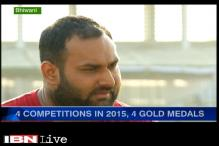 Indian shot-putter Inderjeet Singh arrives with a bang