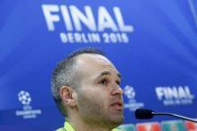 Injured Iniesta to miss Spain's Euro qualifier with Belarus