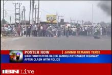 Sikhs block Jammu-Pathankote highway, raise 'Khalistan zindabad' slogans after clashes with police