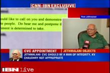 Ready to challenge KV Chowdary's appointment as CVC in Supreme Court, says Ram Jethmalani