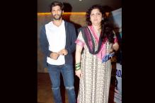 Raj Thackeray's son Amit and Sachin Tendulkar's daughter Sara catch the screening of  'Dil Dhadakne Do'