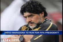 Diego Maradona to run for FIFA President?