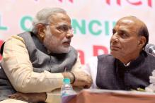 PM Modi meets Rajnath, discusses government strategy to tackle Lalit-Sushma controversy