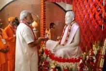 PM Modi visits Ramakrishna Mission in Dhaka
