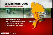 Map: The worst affected areas due to Mumbai rain