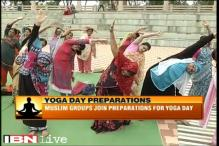 Despite protest, large scale preparations for Yoga Day underway in Nagpur