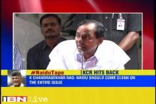Telangana CM hits out at Naidu, says Andhra CM needs to come out clean