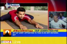Madhya Pradesh BJP chief sparks row, says opposing yoga in 'anti-national'