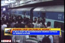 Maharashtra: Five MLAs allegedly stop Secunderabad-Mumbai Express for not having confirmed tickets