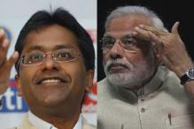 BJP rubbishes Congress allegations of proximity between the PM and Lalit Modi, calls it 'political bankruptcy'