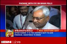 Centre working slowly on providing aid to Bihar: Nitish Kumar