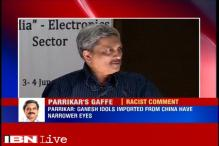 Lord Ganesha's idols imported from China have narrower eyes: Manohar Parrikar