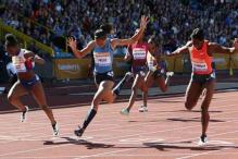 Olympic champion Felix beaten on a photo finish in Birmingham