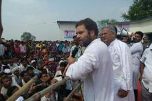 Rahul Gandhi begins 10-km padyatra on the second day of his Chhattisgarh trip