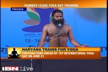 Ramdev, Haryana government gear up for International Yoga Day event, conduct a two-day camp