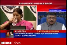 Lalit Modi visa row: No allegation of corruption against Sushma, says Ravi Shankar Prasad