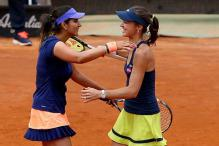 Sania Mirza, Martina Hingis enter semis of Aegon International