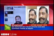 Journalist murder case: UP government suspends 4 police officers, no action against SP Minister