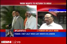 When I met Lalit Modi, I told him to return to India, says Sharad Pawar